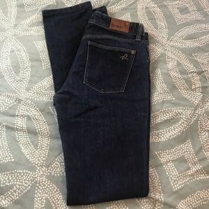 DL 1961 Grace High Rise Straight Leg Jeans